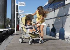 SpotTech in stroller mode.  The new Bebecar SpotTech is the only pushchair you'll ever need. It combines the compact folding of a lightweight stroller with the comfort of a luxury pram.