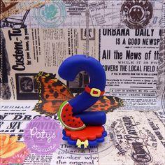 Vela decorada Show da Luna - Paty's Biscuit