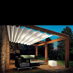 this image inspired our pergola/awning