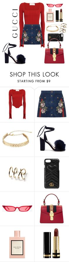 """#14"" by gabrieka ❤ liked on Polyvore featuring Esteban Cortazar, Gucci, Rebecca Minkoff and Loeffler Randall"
