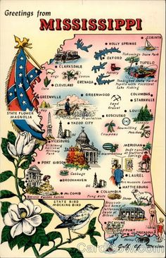 """Mississippi motto/nickname: """"By Valor and Arms"""" 