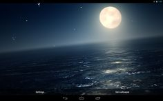 Ocean At Night Live Wallpaper Apk Android Apps