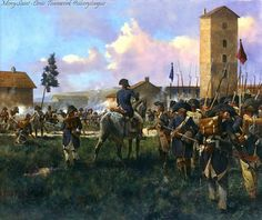 French Attack at Marengo, 14 June 1800 by Keith Rocco.