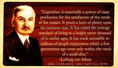 """""""If socialists understood economics, they would not be socialists.""""  ~F. A. Hayek"""