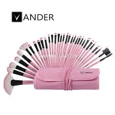 VANDER 32pc Pro Makeup Brushes Set with Pouch