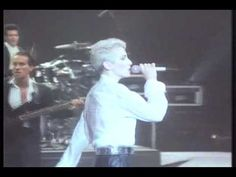 ▶ EURYTHMICS - There Must Be An Angel (live 1987) - YouTube         Please play this song at my funeral ...LOUD !! When the time comes of course...... YEAH I LOVE IT !!!!  Leah