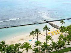 Waikiki Beach Marriott Resort & Spa: View from the Balcony