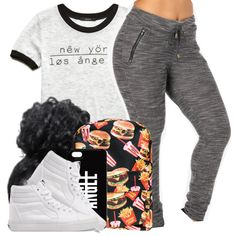 A fashion look from January 2015 featuring Forever 21 t-shirts, Vans sneakers and Hollywood Mirror backpacks. Browse and shop related looks.