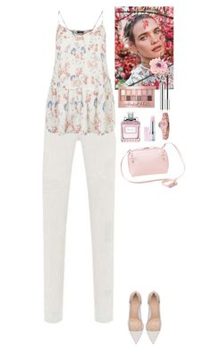 """""""Lovely outfit TOMTOP"""" by eliza-redkina ❤ liked on Polyvore featuring Gianvito Rossi, Maybelline, Christian Dior, Lirikos and vintage"""