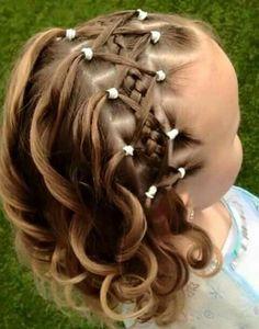 66 Ideas Wedding Hairstyles For Kids Flower Girls Toddler Hair Flower Girl Hairstyles, Little Girl Hairstyles, Trendy Hairstyles, Braided Hairstyles, Wedding Hairstyles, Children Hairstyles, Teenage Hairstyles, Hairstyle Short, School Hairstyles