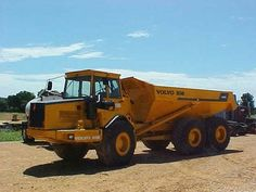 Volvo Articulated Dump Trucks    http://www.rockanddirt.com/equipment-for-sale/VOLVO/articulated-trucks