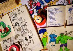 Del cuaderno a la calle Abril. Día 17 Natalia Lombardo  untadoendetergente.blogspot.com