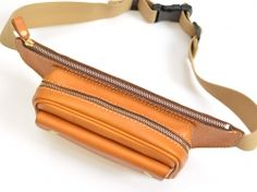 Leather Fanny Pack, Leather Belt Bag, Hip Bag, Etsy Jewelry, Beautiful Bags, Purses And Bags, Zip Around Wallet, Crossbody Bag, Belt Bags