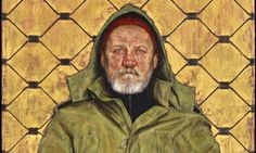 Thomas Ganter wins BP portrait prize with painting of homeless German man