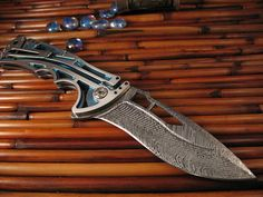 Brian Tighe - Nirk Tighe in Damasteel - Fort Henry Custom KnivesFort Henry Custom Knives