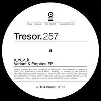 TRESOR 257 - s_w_z_k - Variant & Empires EP by Tresor.Berlin on SoundCloud