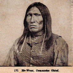 Ho-Wear (aka Gap In The Woods) - Yamperico Comanche - circa 1872