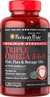 Maximum Strength Triple Omega 3-6-9 Softgels 120 Softgels  24.99