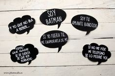 letreros mariana on Pinterest | Fiestas, Photo Booth Props and ...