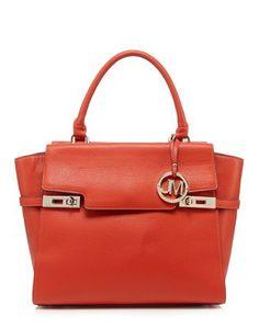 Star by Julien Macdonald Orange logo charm tote bag | Debenhams