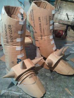 Alphonse Elric Armor Cardbord Build (WIP)