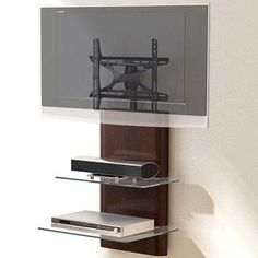 Modern Wall Mount Tv Stand Elegant Delmont Wall Furniture System with Integrated Mount A Best Tv Wall Mount, Wall Mount Tv Stand, Furniture Decor, Living Room Furniture, Wall Mount Entertainment Center, Console Cabinet, Wall Mounted Tv, Modern Wall, Home Accessories