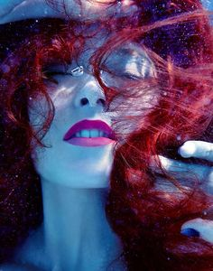 Dreamy Underwater Editorials - The Sent From Above Beauty Story Features Aquatic Captures