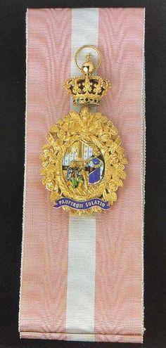 Insígnia da Grã- Cruz da Real Ordem de Santa Isabel, inicios do século XIX