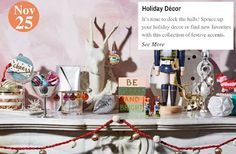 It's a Steal! Holiday Décor:  www.teelieturner.com #homedecor