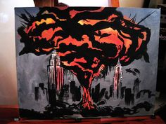 This is a colorized replica of the painting Tim Sale made for the hit TV show Heroes. Sylar Heroes, Hero Drama, Hunger Games, Hero Tv Show, Heroes Peter, Heroes Tv Series, Heroes Reborn, Fantasy Tv, Hero Arts