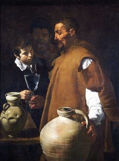 size: Giclee Print: Water-seller in Sevilla, Spain. by Diego Velazquez : Water-seller in Sevilla, Spain. Oil on canvas Author: DIEGO VELAZQUEZ. Spanish Painters, Spanish Artists, Fine Art, Poster Prints, Painter, Western Art, Urban Art, Painting Prints, Art History
