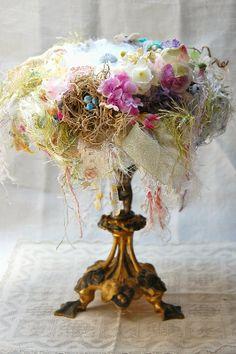 Wonderful shabby nest via Lululiz in Lalaland