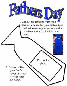 father's day crafts ties