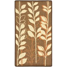 Found it at Wayfair - Courtyard Brown Natural/Terracotta Rug