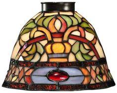 Conservatory Fan/Vanity Light Shade (Home Decorators)