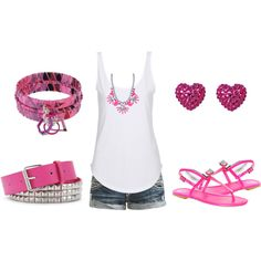 """""""pink day"""" by karlibugg on Polyvore"""