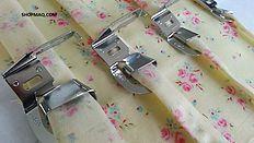 Calcadores Originais para maquinas de costura domestica da singer , janome , brother, elna , bernina e outras ... A maior variedade e os melhores preços.