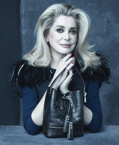 Catherine Deneuve for Louis Vuitton