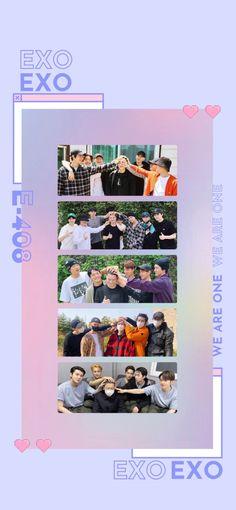 Exo Songs, Exo Lockscreen, Pin Pics, Kpop Exo, Naruto Shippuden Anime, K Idols, Chanyeol, Diaper Backpack, Exo Members