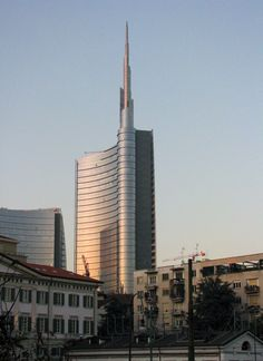 Unicredit Tower-Garibaldi  Tower A, Milan-Italy; 217.7 m – 33 fl; completion 2012