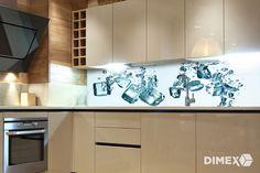Fototapeta DIMEX - Kocky ľadu Kitchen Cabinets, Home Decor, Decoration Home, Room Decor, Cabinets, Home Interior Design, Dressers, Home Decoration, Kitchen Cupboards