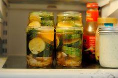 a pretty cool life.: Refrigerator pickles