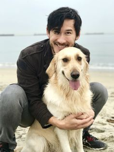Mark and Chica! So cute.