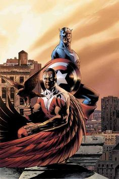 Steve Epting - Captain America and Falcon