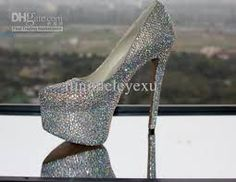 The Shiniest Heels In The World!