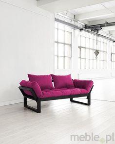 EDGE - sofa rozkładana z materacem futon i poduszkami, Karup - Meble
