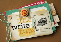 Homespun with Heart: the write type...