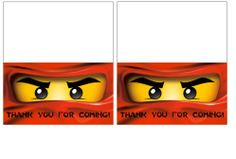 Our Homemade Happiness: Ninjago Birthday Party Ideas with Printables - bag toppers Karate Party, Karate Birthday, 7th Birthday Party Ideas, Ninja Birthday Parties, 5th Birthday, Ninjago Party, Lego Ninjago, Dj Party, Party Favours