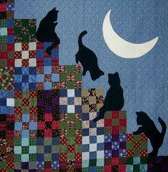 Quilt Inspiration: cat