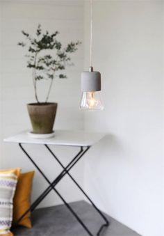 Ling fönsterlampa betong